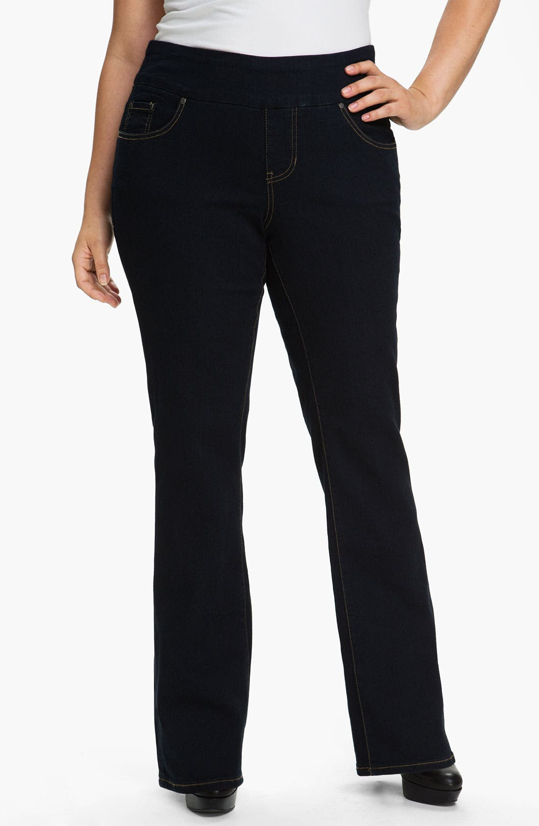 Main Image - Jag Jeans Pull-On Jeans (Plus)