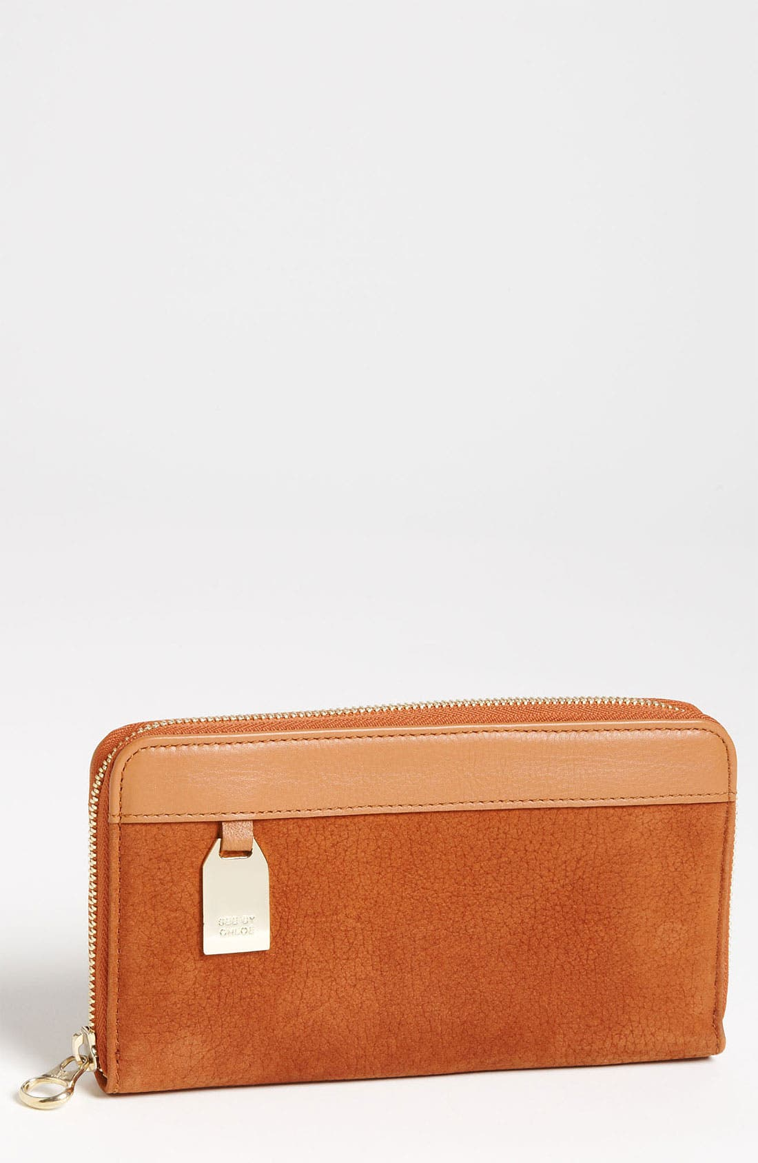 Main Image - See By Chloé Long Zip Around Wallet