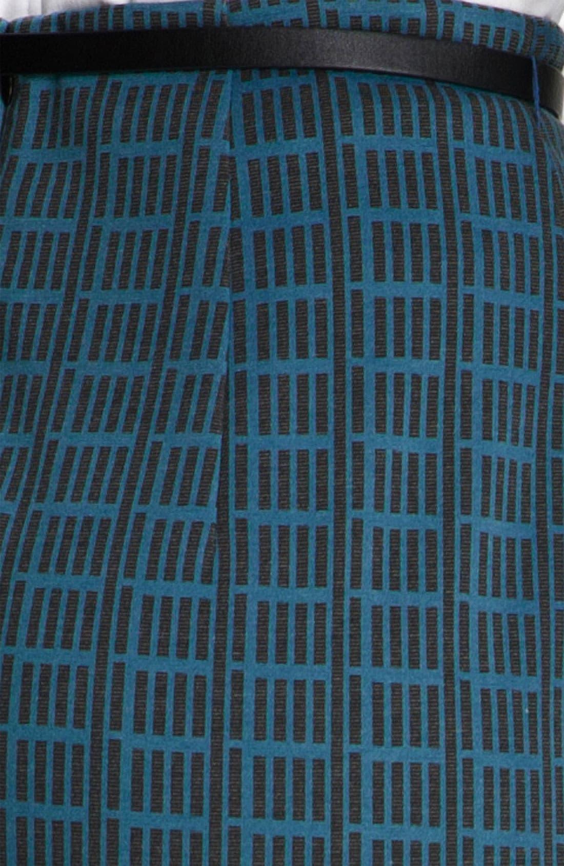 Alternate Image 3  - Halogen® Belted Ponte Skirt