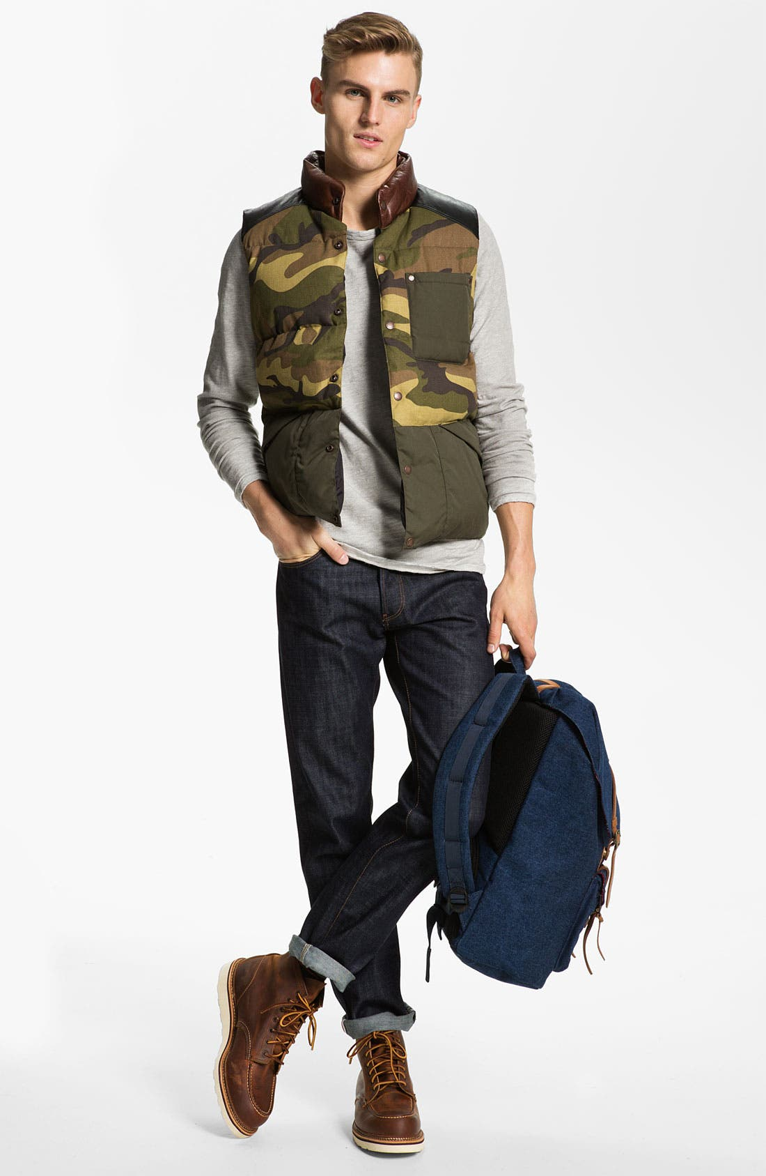 Alternate Image 4  - Penfield 'Outback Camo' Down Vest