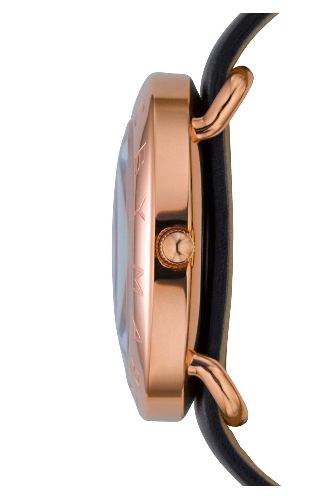 Alternate Image 3  - MARC JACOBS 'Amy' Leather Strap Watch, 36mm