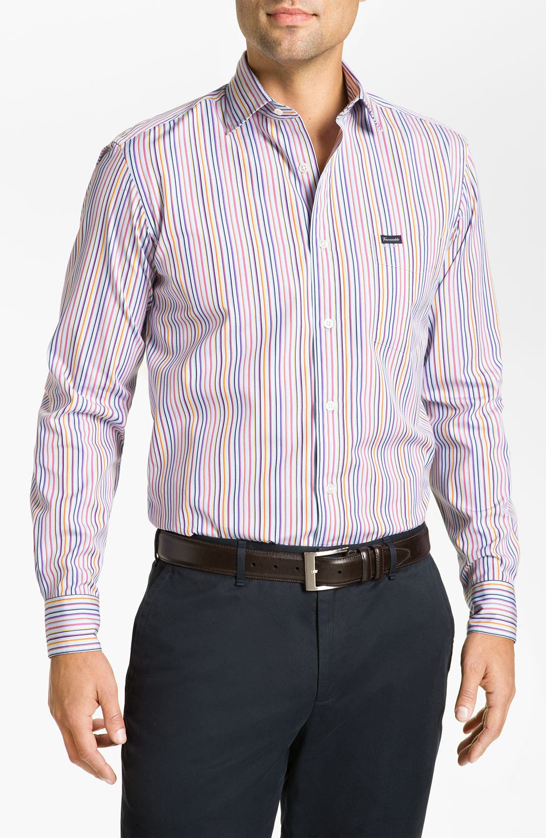 Alternate Image 1 Selected - Façonnable Club Fit Sport Shirt