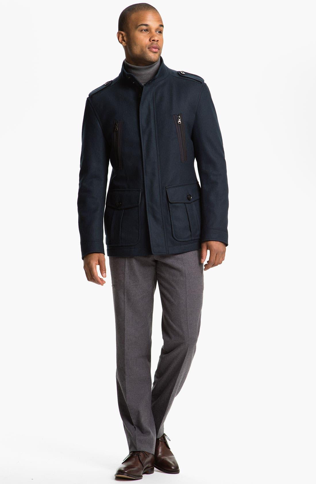 Alternate Image 4  - BOSS Black 'Ciffom' Wool Jacket