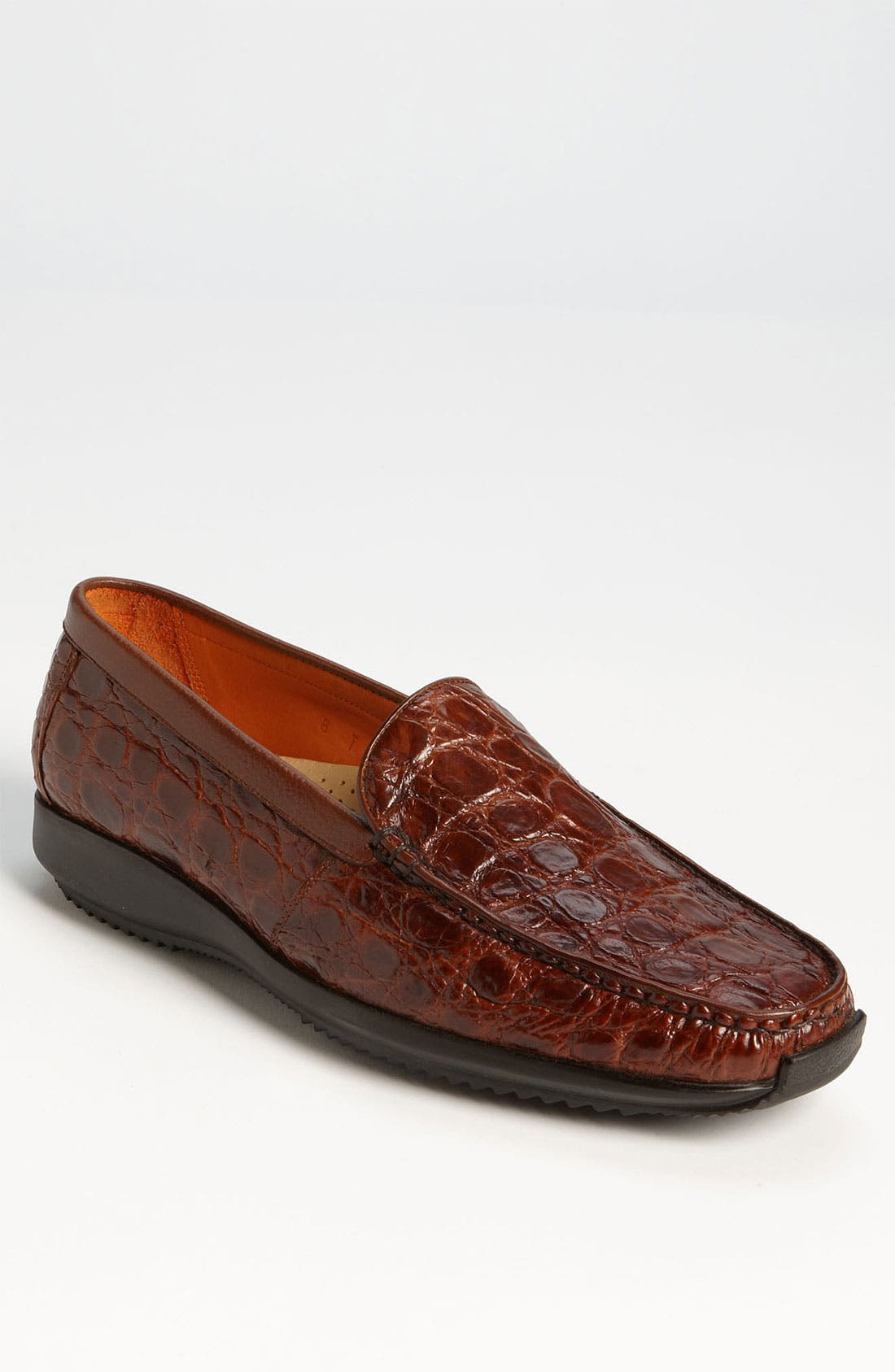 Alternate Image 1 Selected - Martin Dingman 'Arlo' Crocodile Loafer (Men)