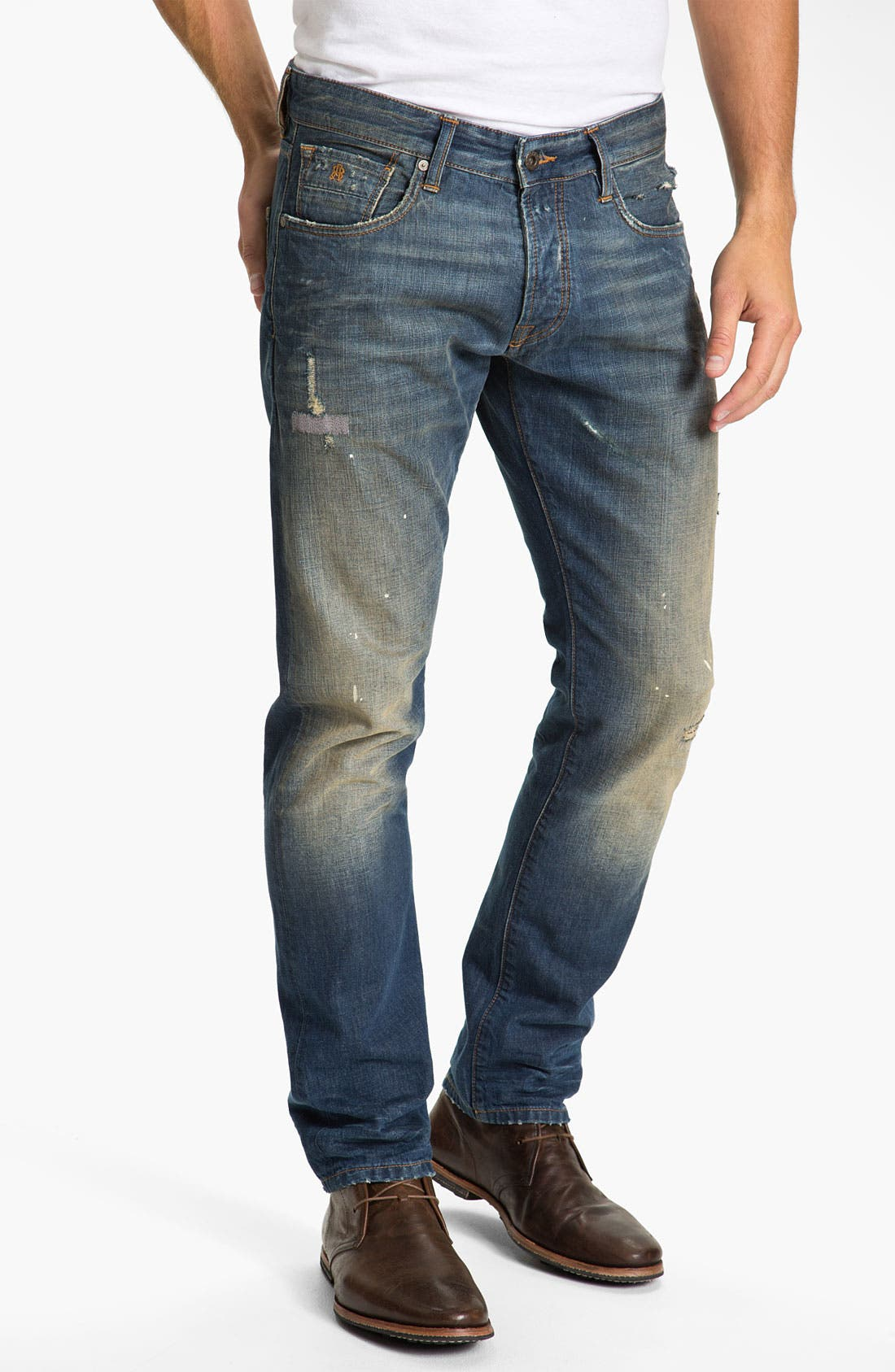 Alternate Image 2  - Scotch & Soda 'Ralston' Slim Straight Leg Jeans (Downtown)