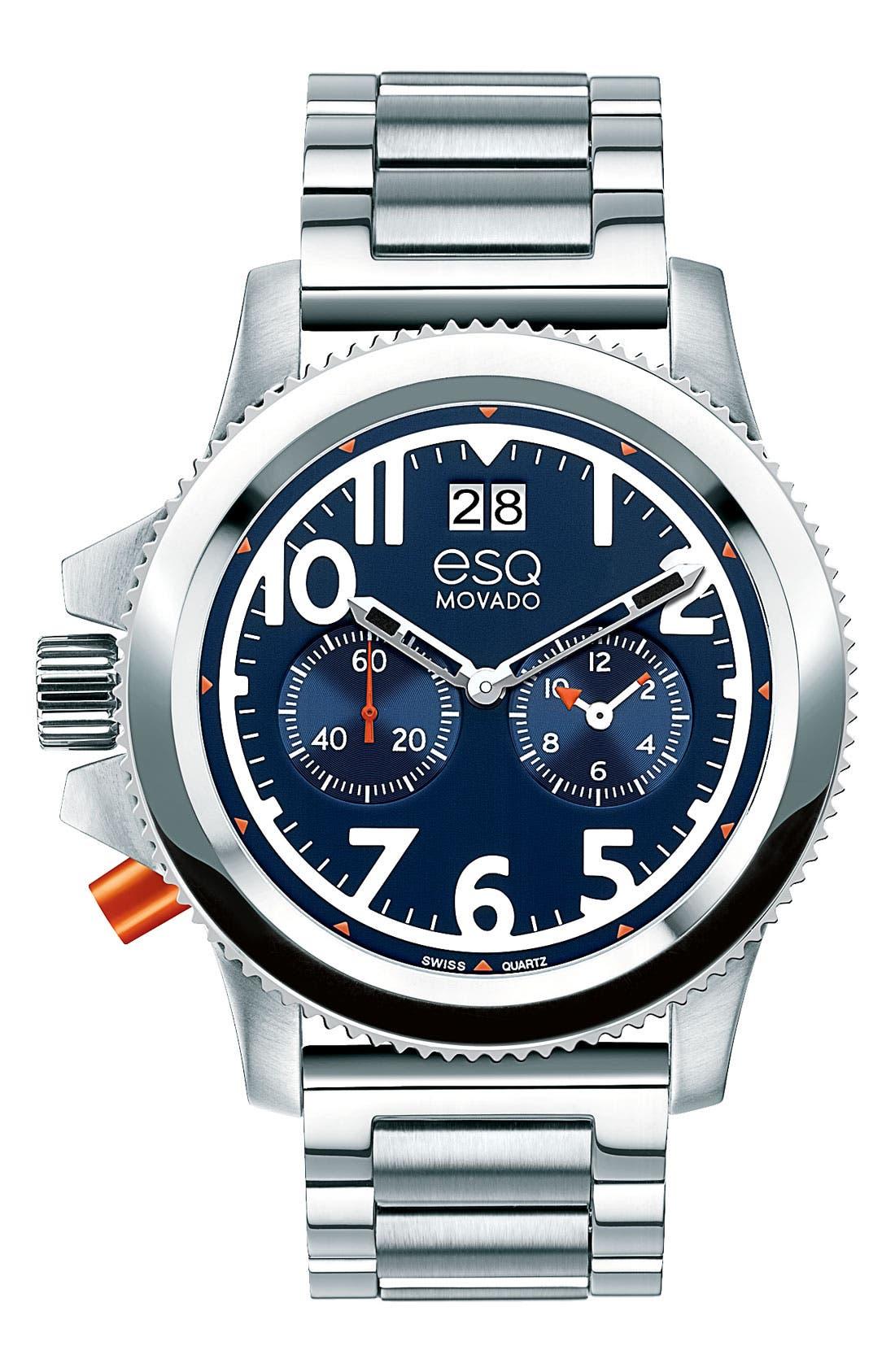 Alternate Image 1 Selected - ESQ Movado 'Fusion' Bracelet Watch