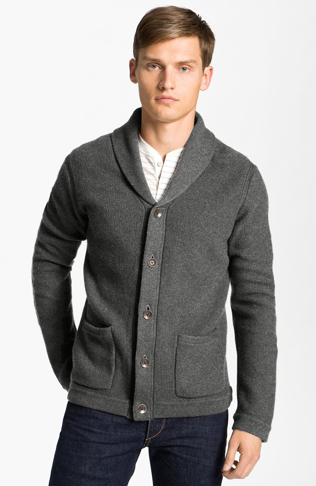 Alternate Image 1 Selected - rag & bone 'Avery' Shawl Collar Cardigan