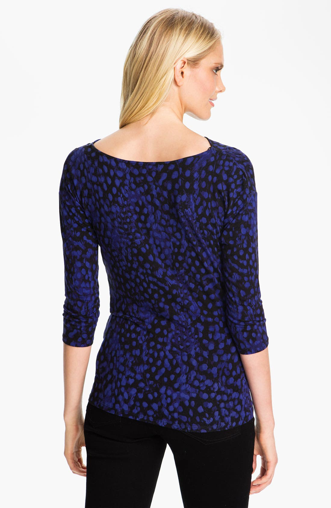 Alternate Image 2  - MICHAEL Michael Kors Boatneck Top