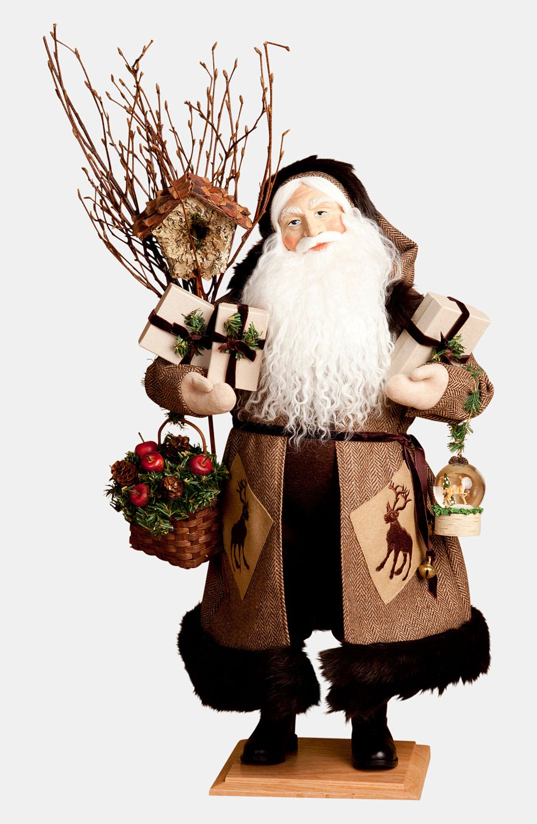 Alternate Image 1 Selected - Lynn Haney 'Forest Woods' Santa Figurine