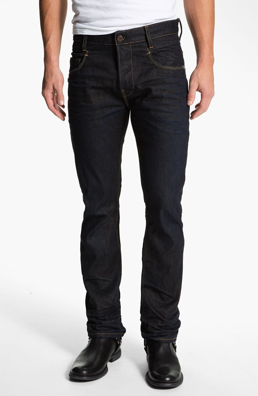 Alternate Image 2  - G-Star Raw 'New Rader' Straight Leg Jeans (3D Dark Aged)