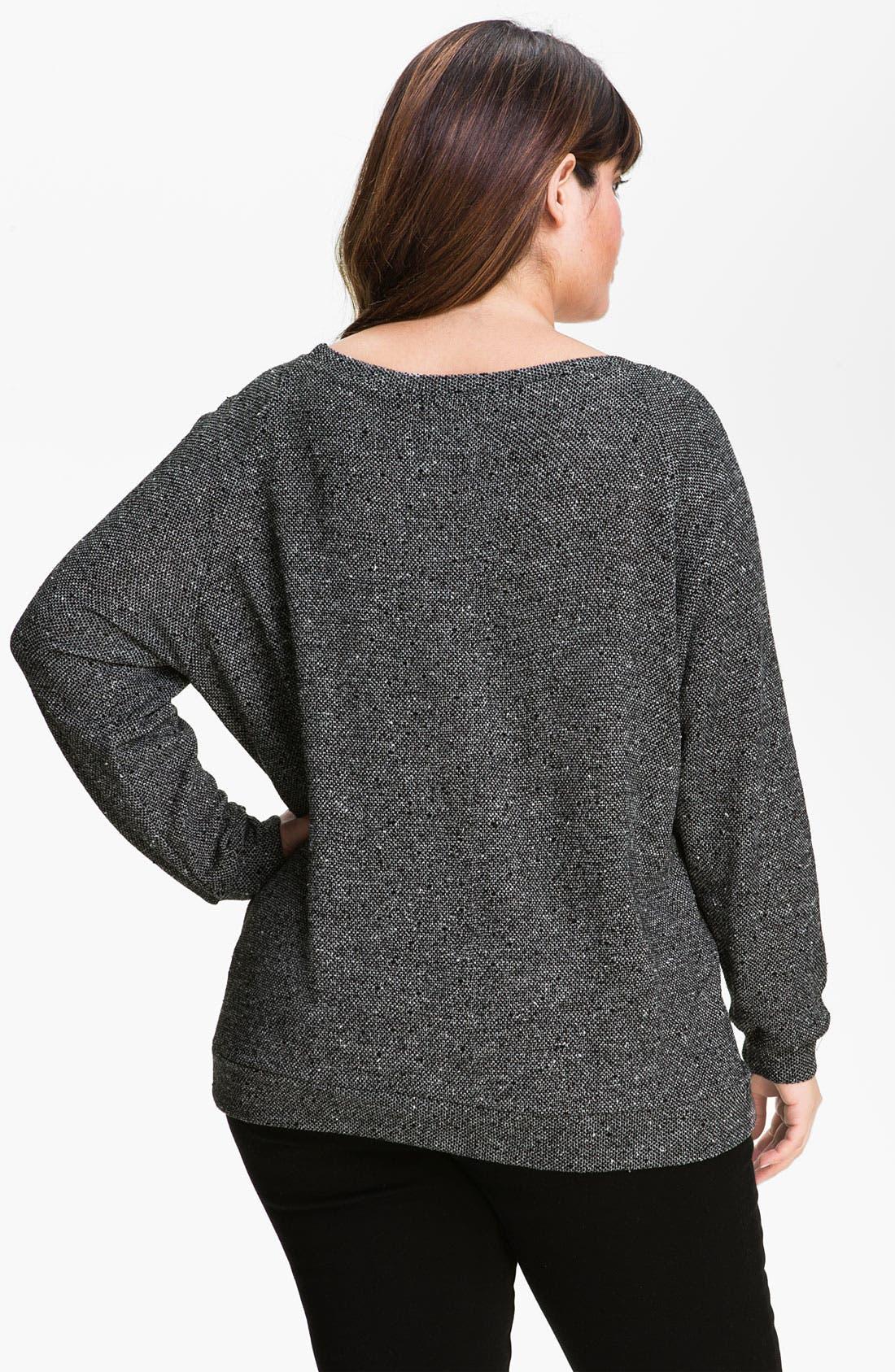 Alternate Image 2  - Nation LTD 'Pomona' Sweatshirt (Plus)