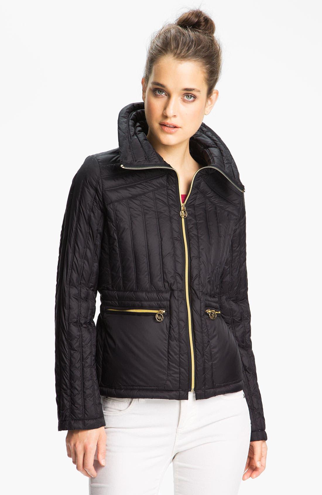 Alternate Image 1  - MICHAEL Michael Kors Packable Down Jacket
