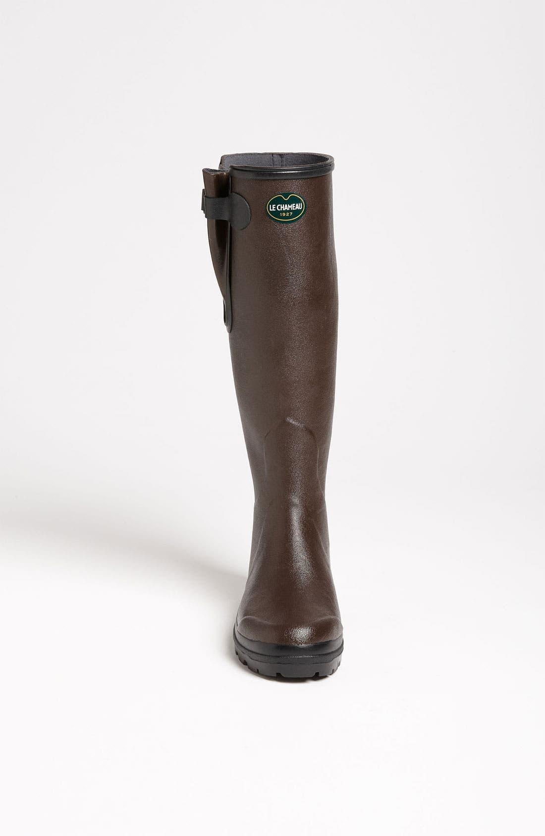 Alternate Image 3  - Le Chameau 'Vierzon Lady II' Rain Boot (Women)