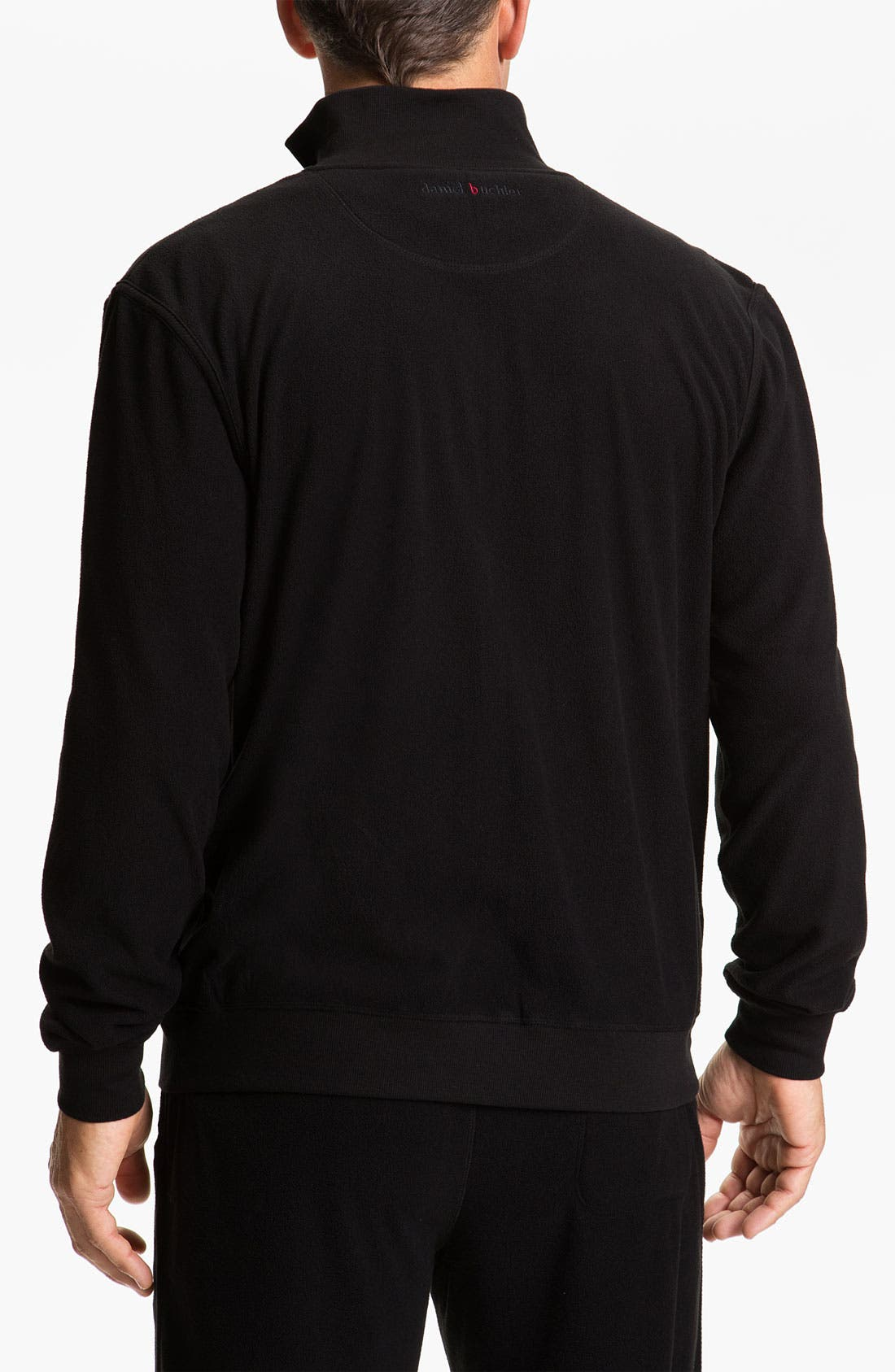 Alternate Image 2  - Daniel Buchler Lightweight Fleece Track Jacket