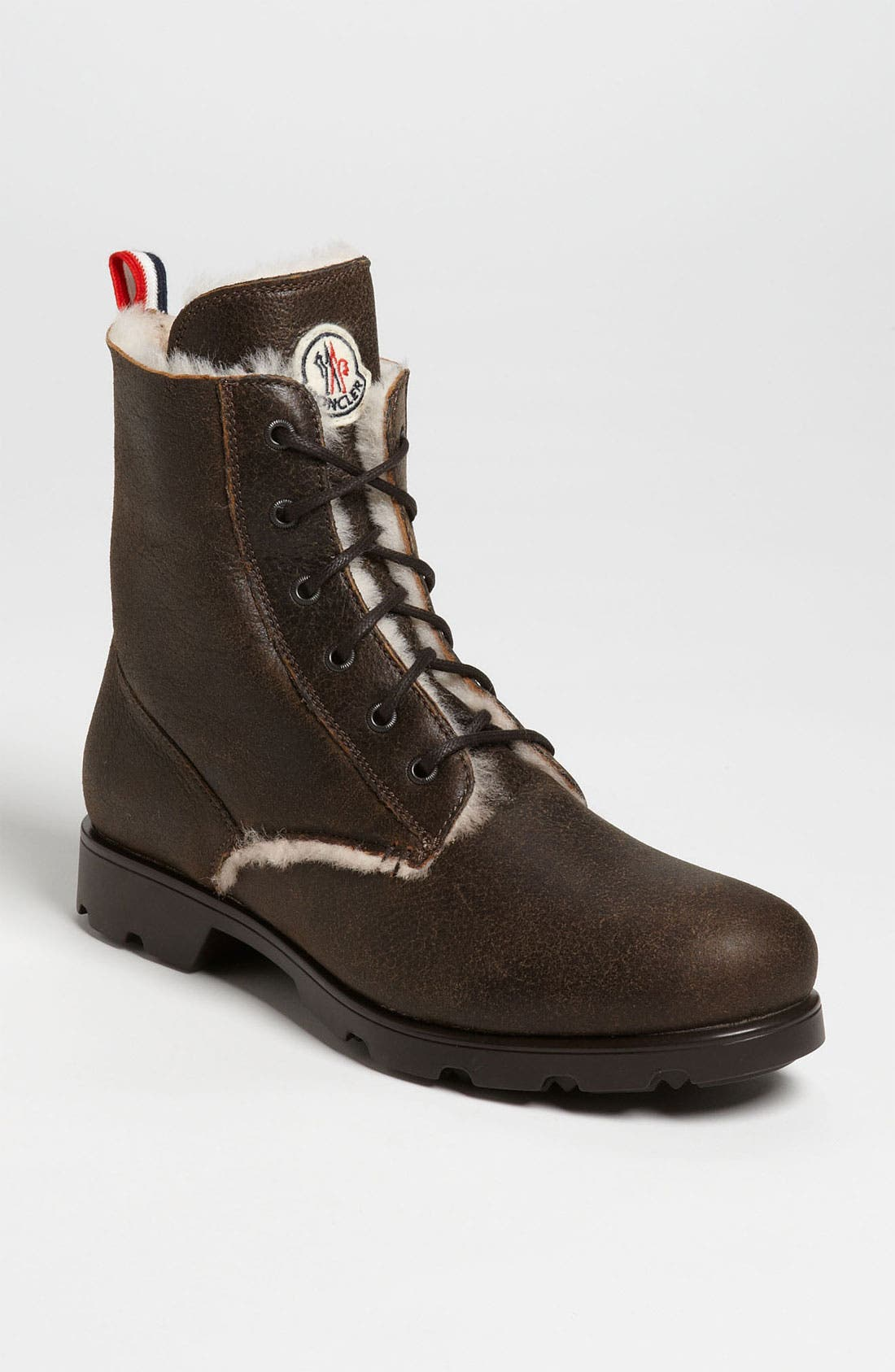 Main Image - Moncler 'Vancouver' Shearling Boot