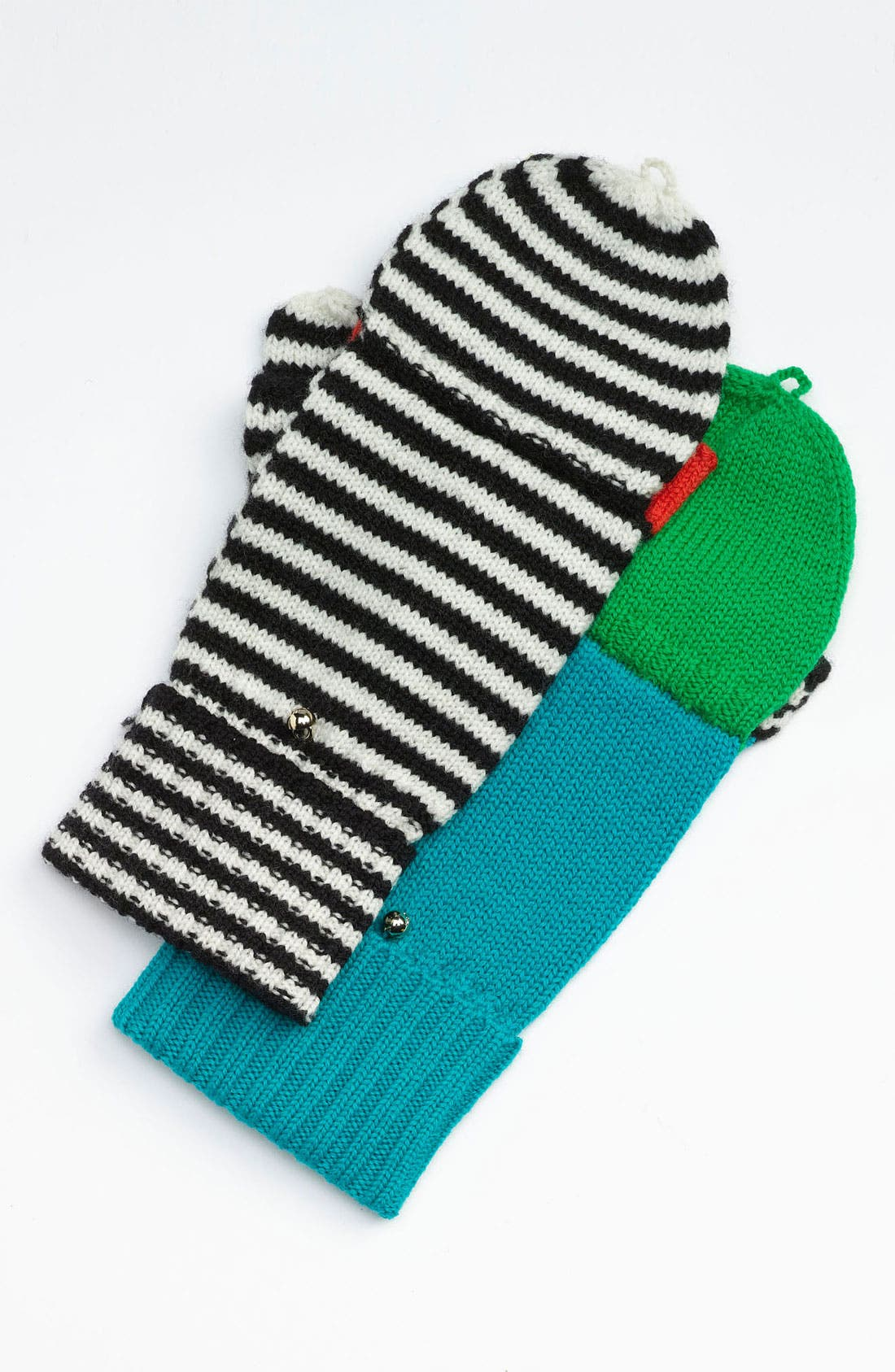 Alternate Image 2  - kate spade new york 'big apple' convertible mittens