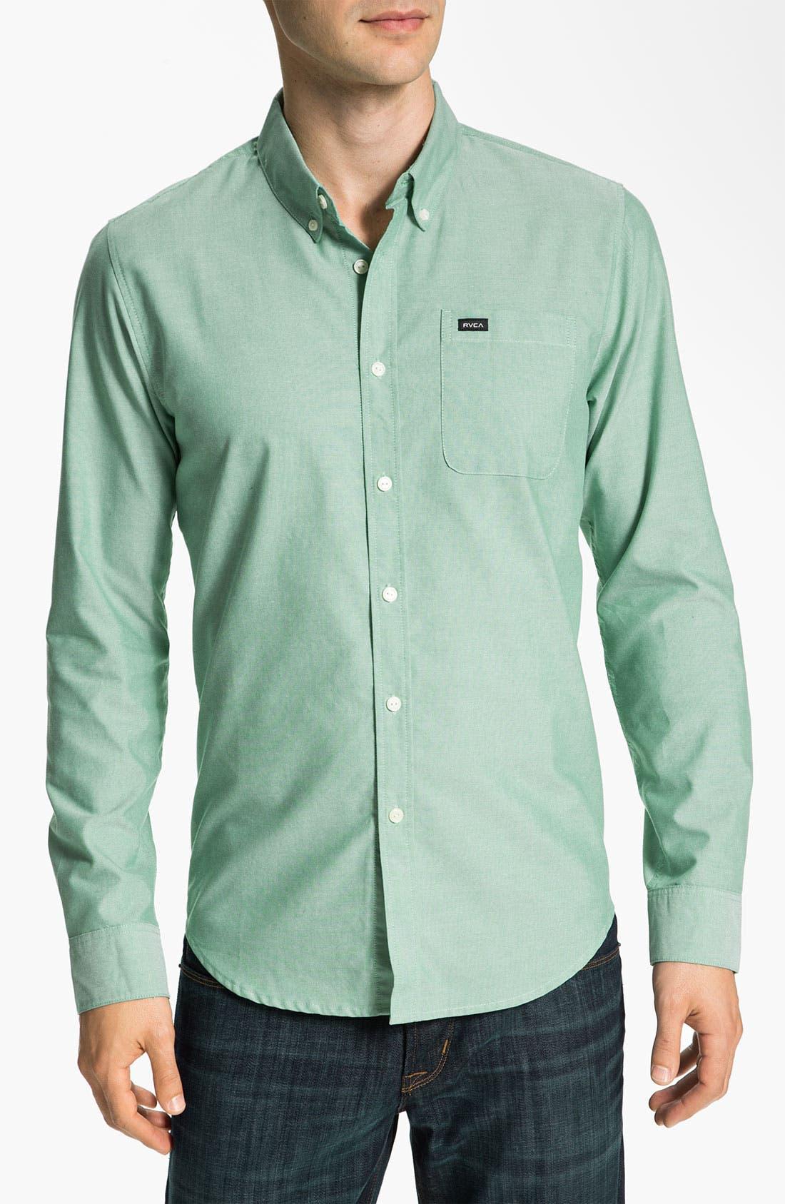 Main Image - RVCA 'That'll Do' Oxford Shirt