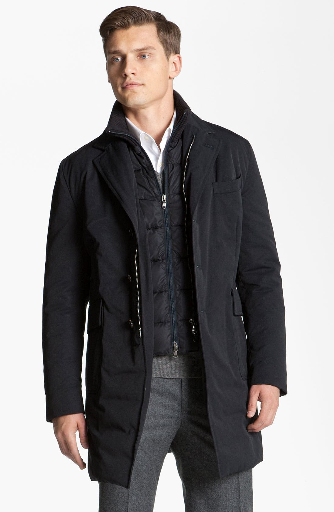 Alternate Image 1 Selected - Moncler 'Grimbert' Trench Coat