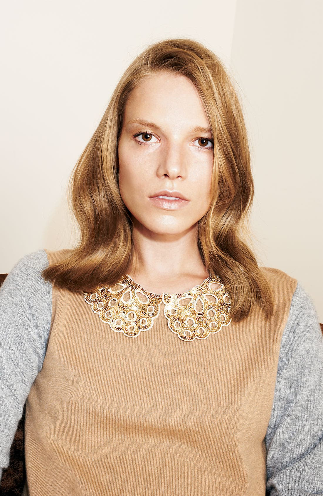 Alternate Image 2  - Cara 'Lacy Lady' Collar Necklace