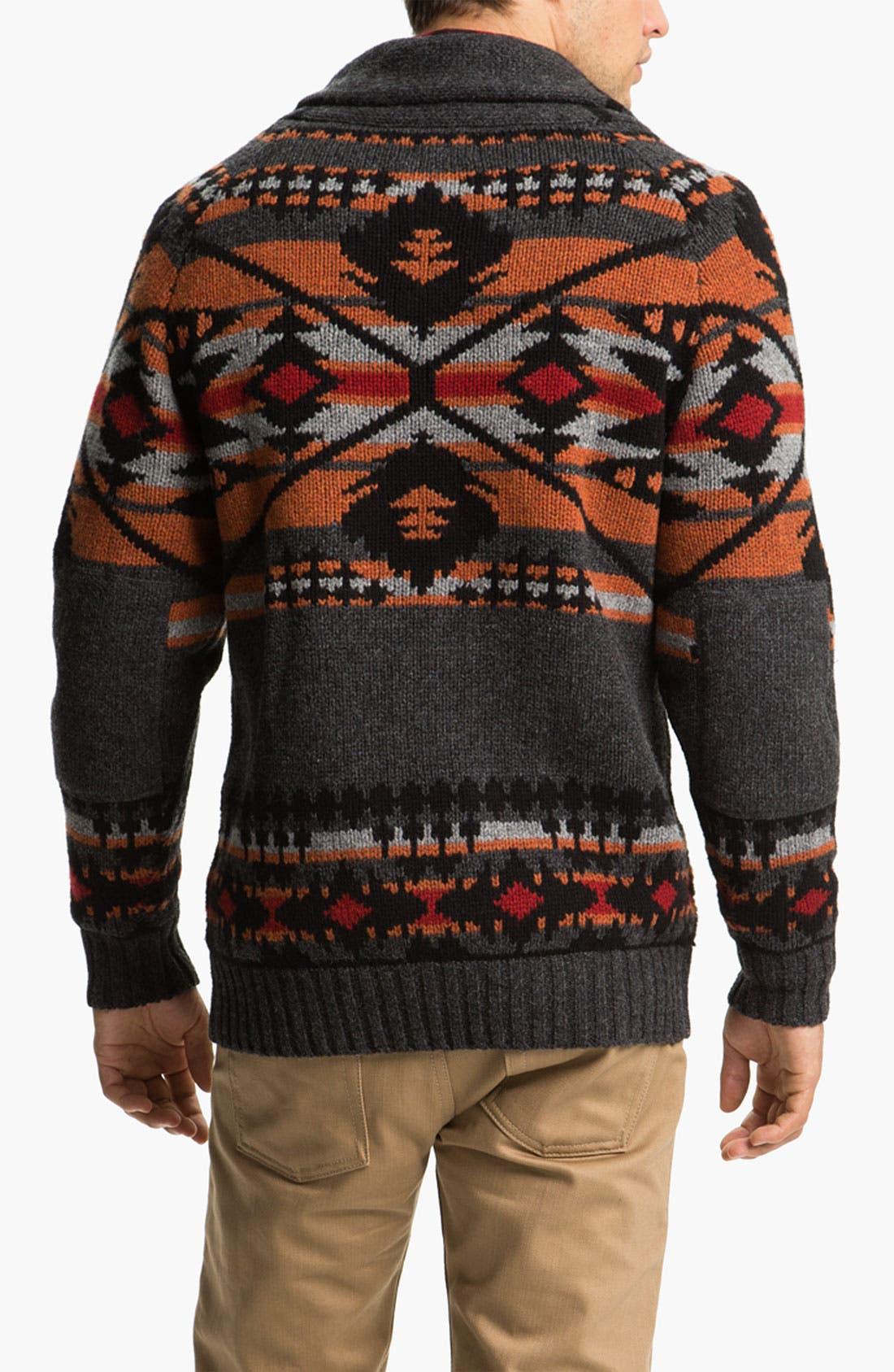 Alternate Image 2  - Pendleton Shawl Collar Sweater