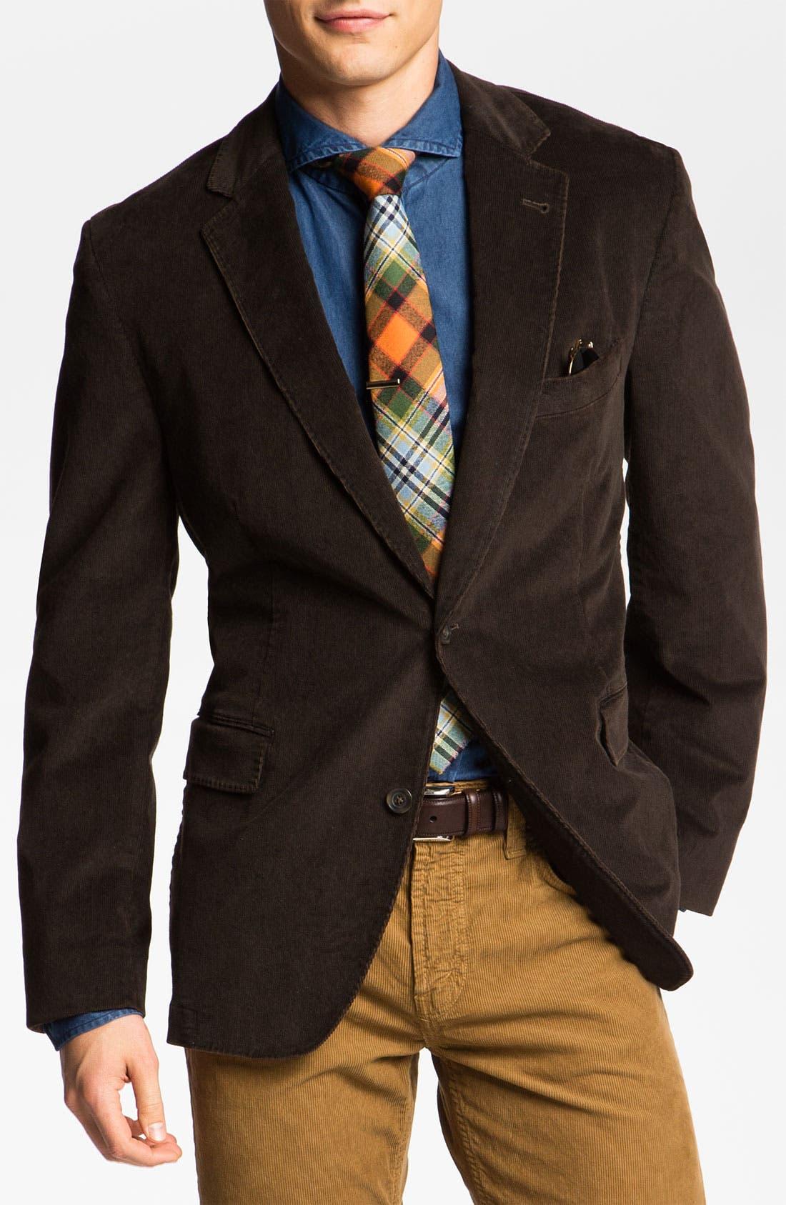 Alternate Image 1 Selected - Kroon 'Taylor' Corduroy Sportcoat