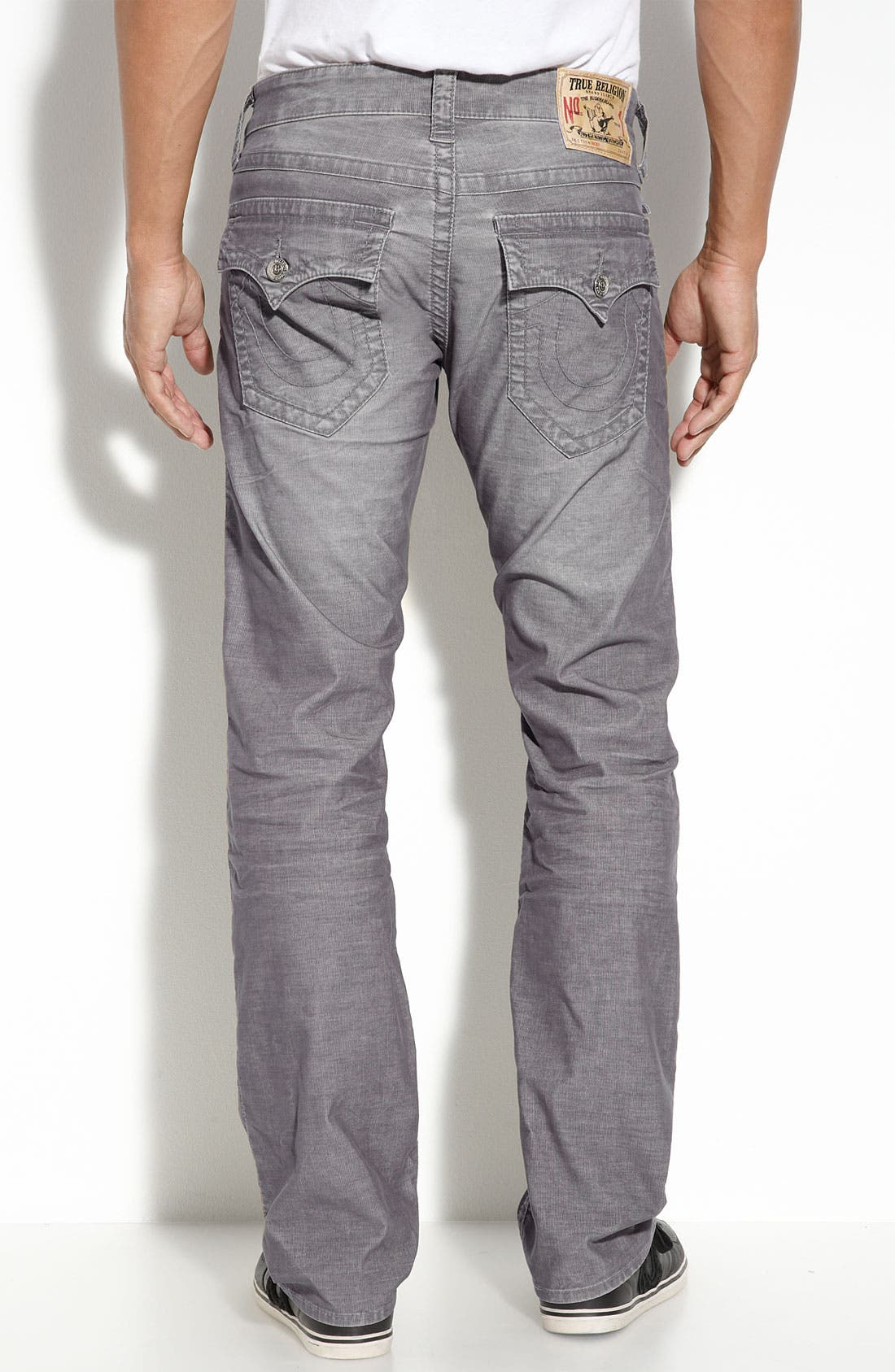 Alternate Image 1 Selected - True Religion Brand Jeans 'Ricky' Straight Leg Corduroy Pants (Online Only)