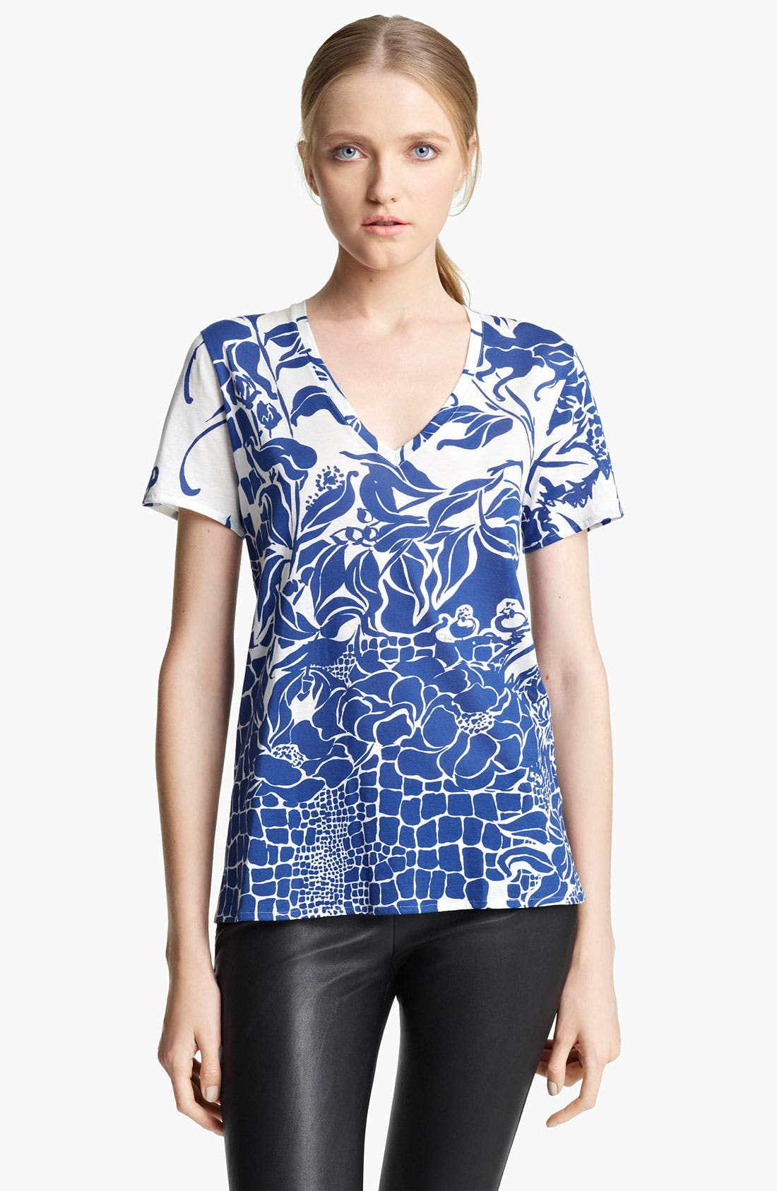 Alternate Image 1 Selected - Emilio Pucci Print Jersey Tee