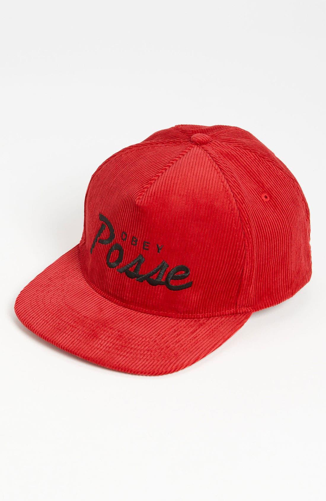 Alternate Image 1 Selected - Obey 'Postgame' Snapback Baseball Cap