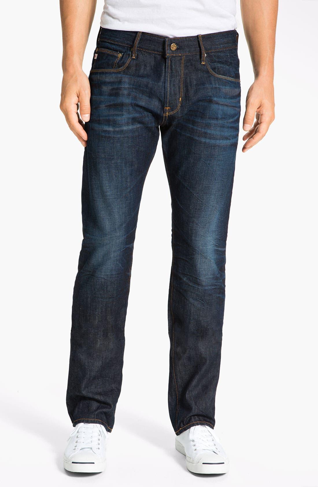 Alternate Image 1 Selected - AG Jeans 'Geffen Easy Slim' Straight Leg Jeans (3 Year Resin)