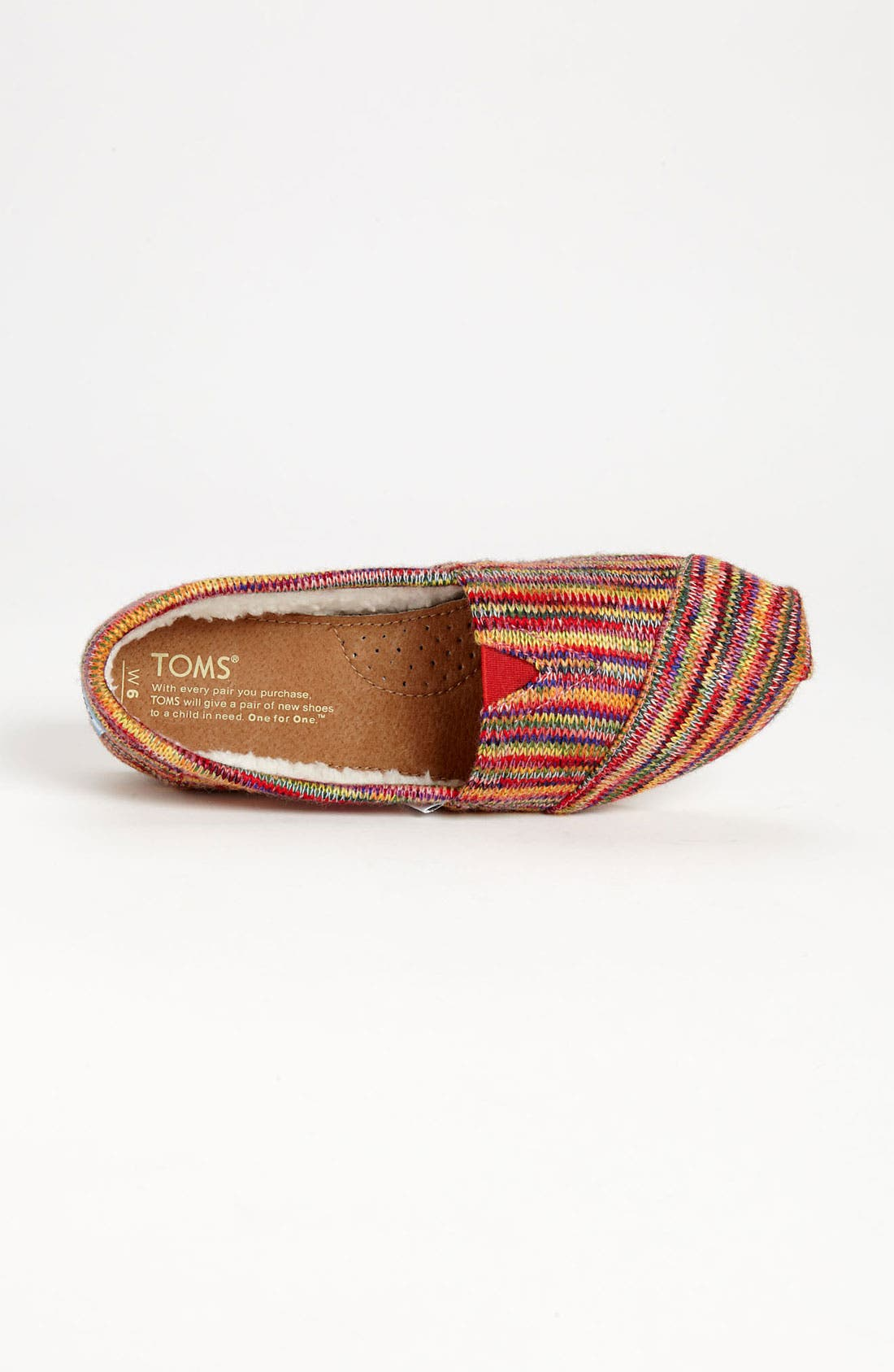 Alternate Image 3  - TOMS 'Classic' Knit Slip-On (Women)
