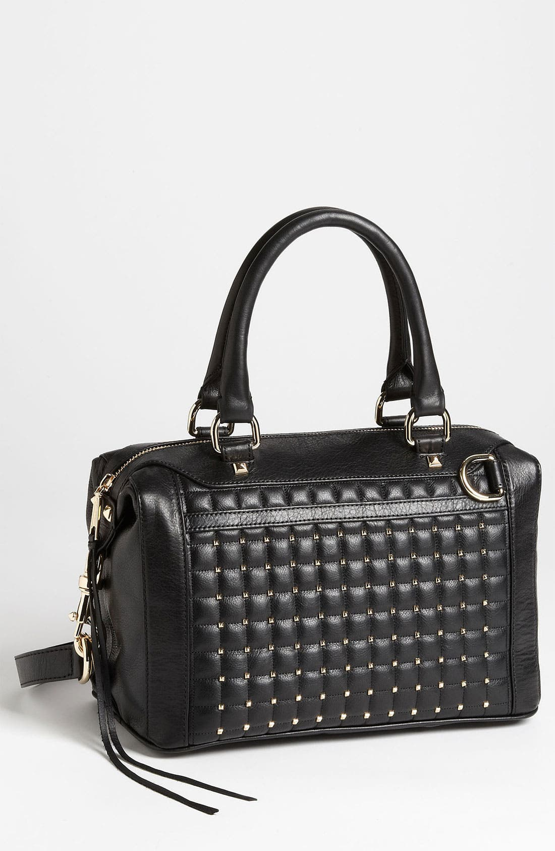 Alternate Image 1 Selected - Rebecca Minkoff 'MAB - Mini' Pyramid Stud Satchel