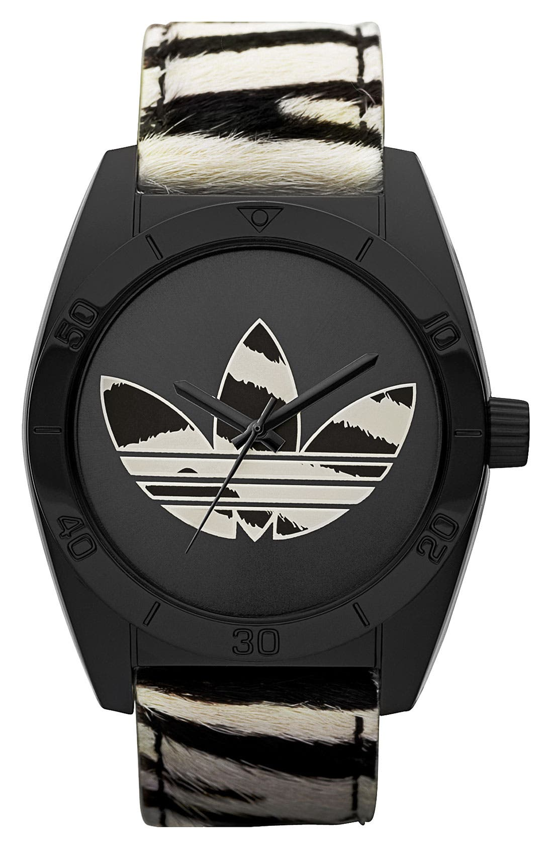 Main Image - adidas Originals 'Santiago' Animal Print Watch