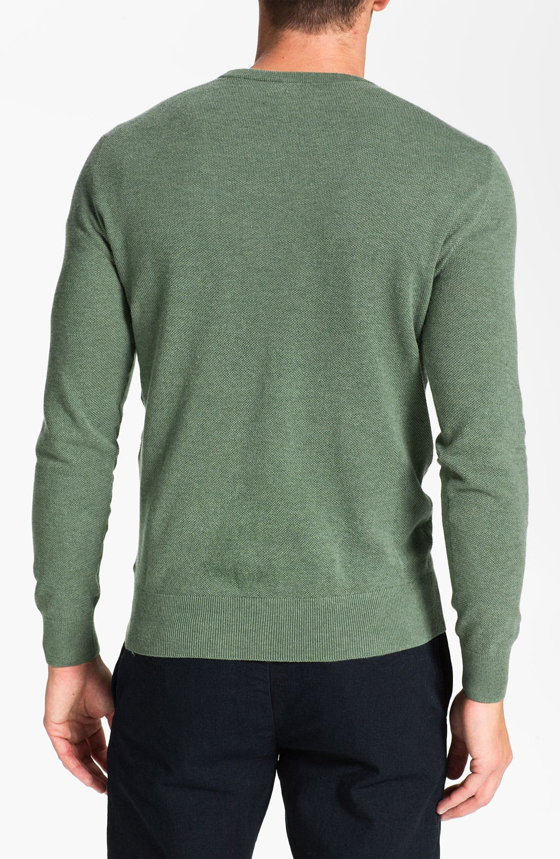 Alternate Image 2  - Polo Ralph Lauren V-Neck Cotton & Cashmere Classic Fit Sweater
