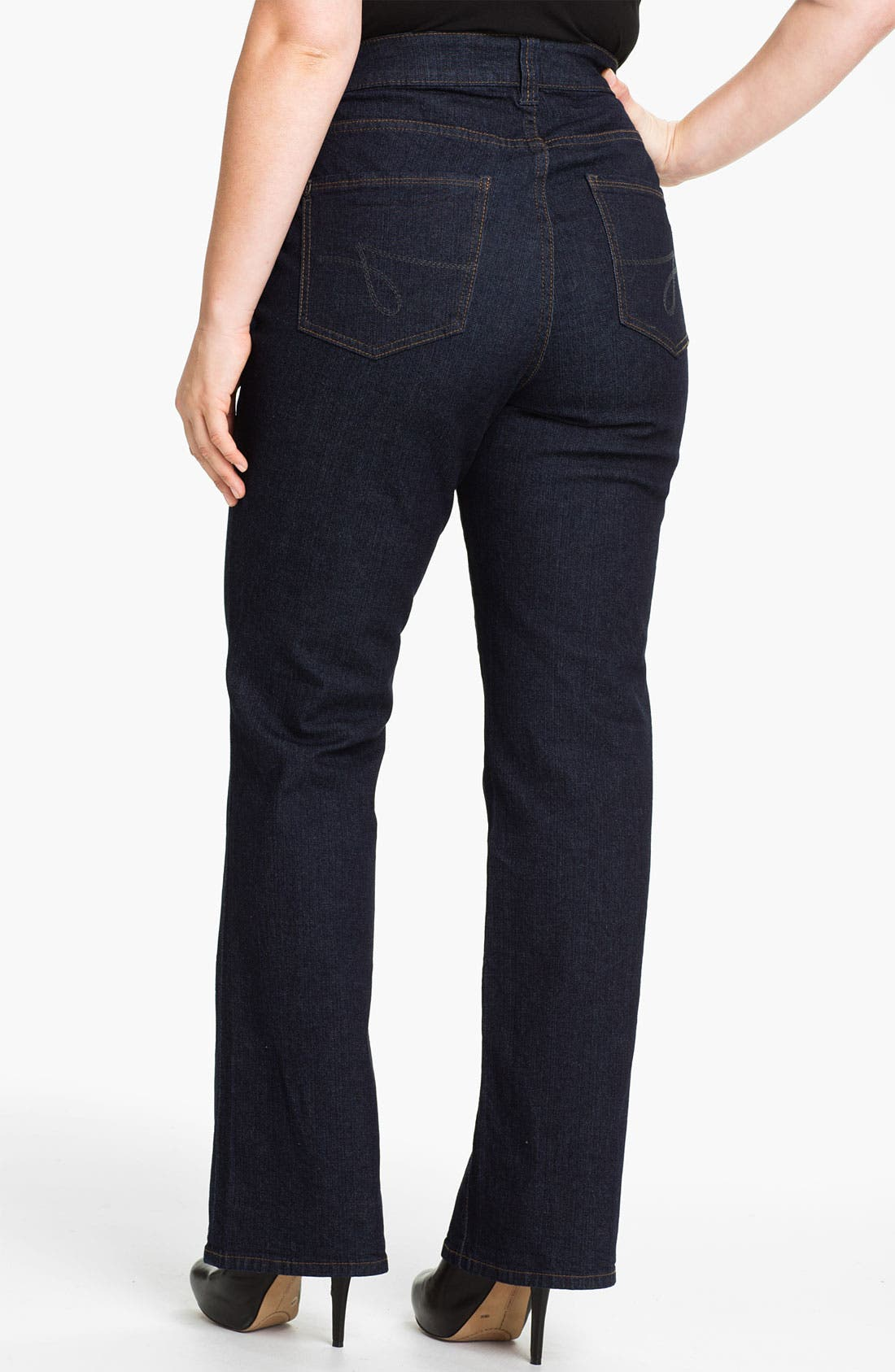 Alternate Image 2  - Jag Jeans 'Foster' Bootcut Jeans (Plus Size)