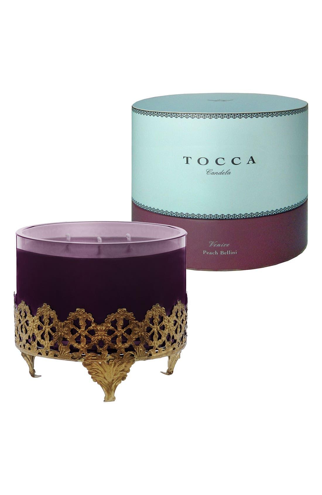 Alternate Image 2  - TOCCA 'Venice' Antique Brass Candela