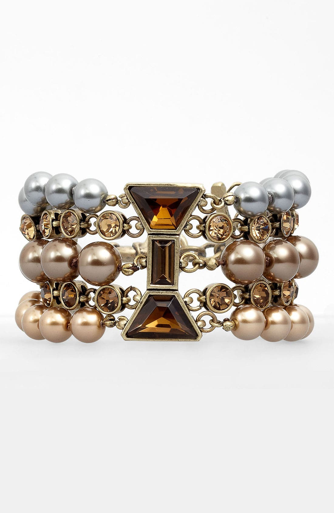 Alternate Image 1 Selected - MARC BY MARC JACOBS Multi Row ID Bracelet