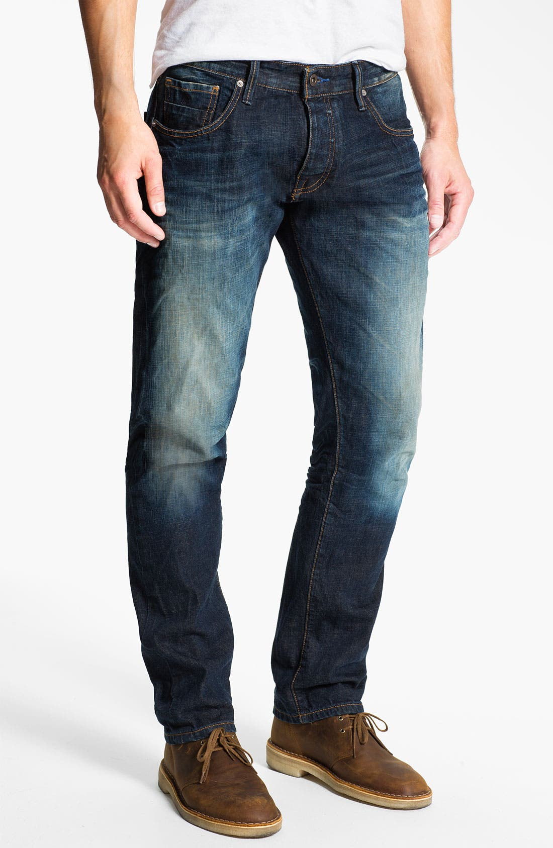 Alternate Image 2  - Scotch & Soda 'Ralston' Slim Straight Leg Jeans (Blue Buzz)