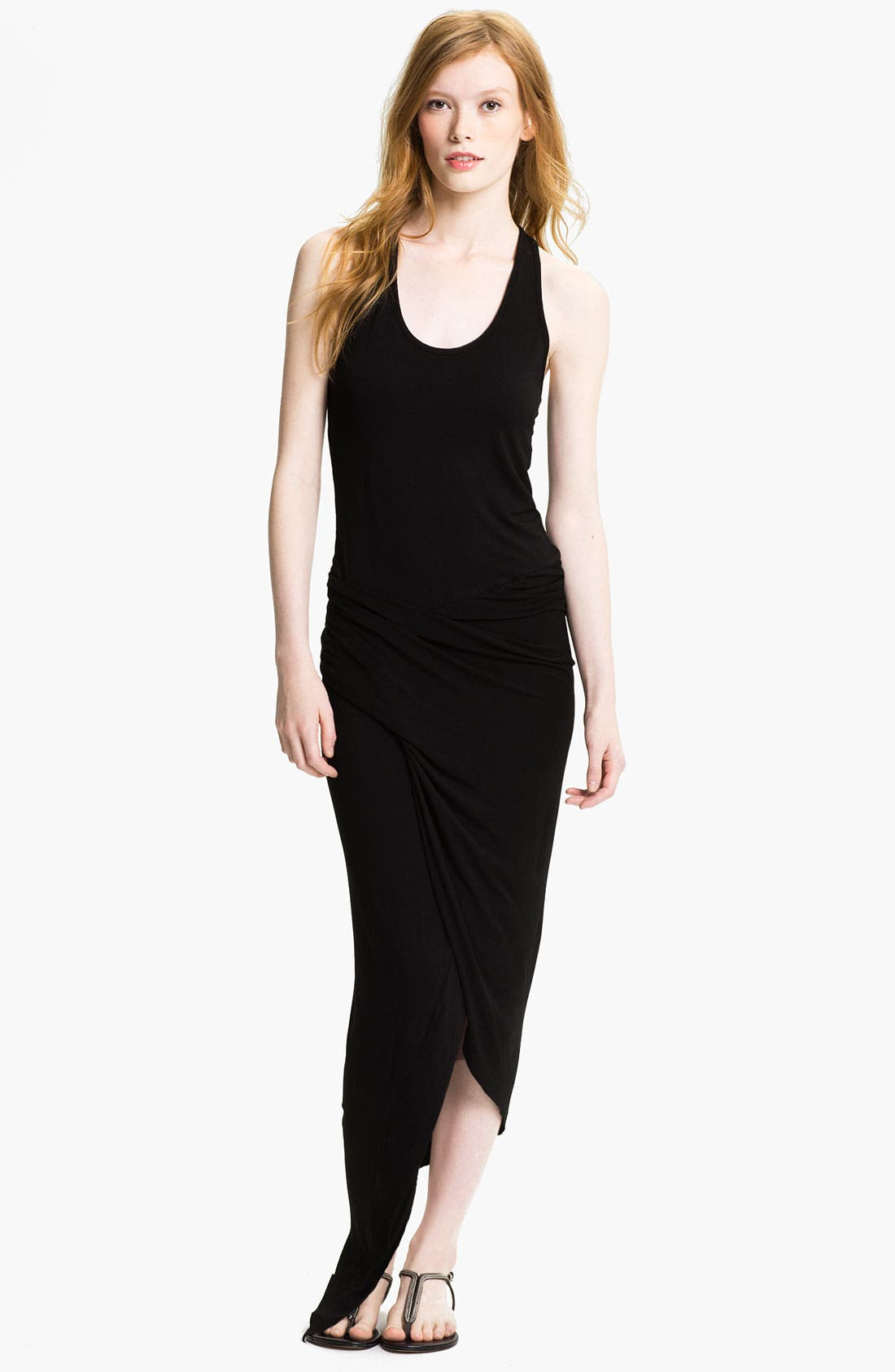 Alternate Image 1 Selected - Young, Fabulous & Broke 'Sassy' Faux Wrap Maxi Dress
