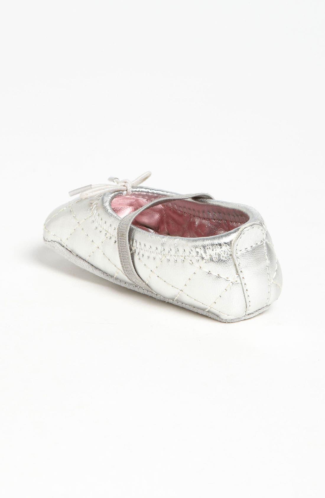 Alternate Image 2  - Stuart Weitzman 'Baby Puffy' Crib Shoe (Baby)