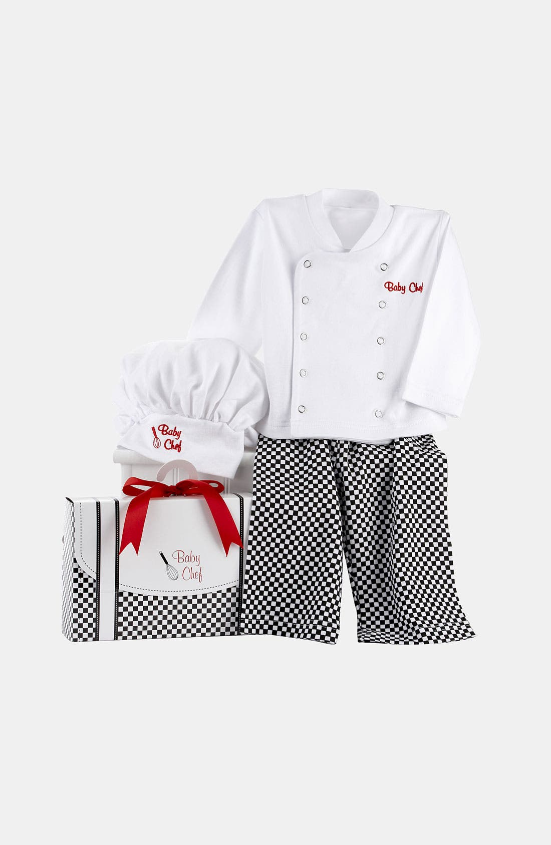 Alternate Image 2  - Baby Aspen 'Big Dreamzzz - Chef' Shirt, Pants & Hat (Baby)