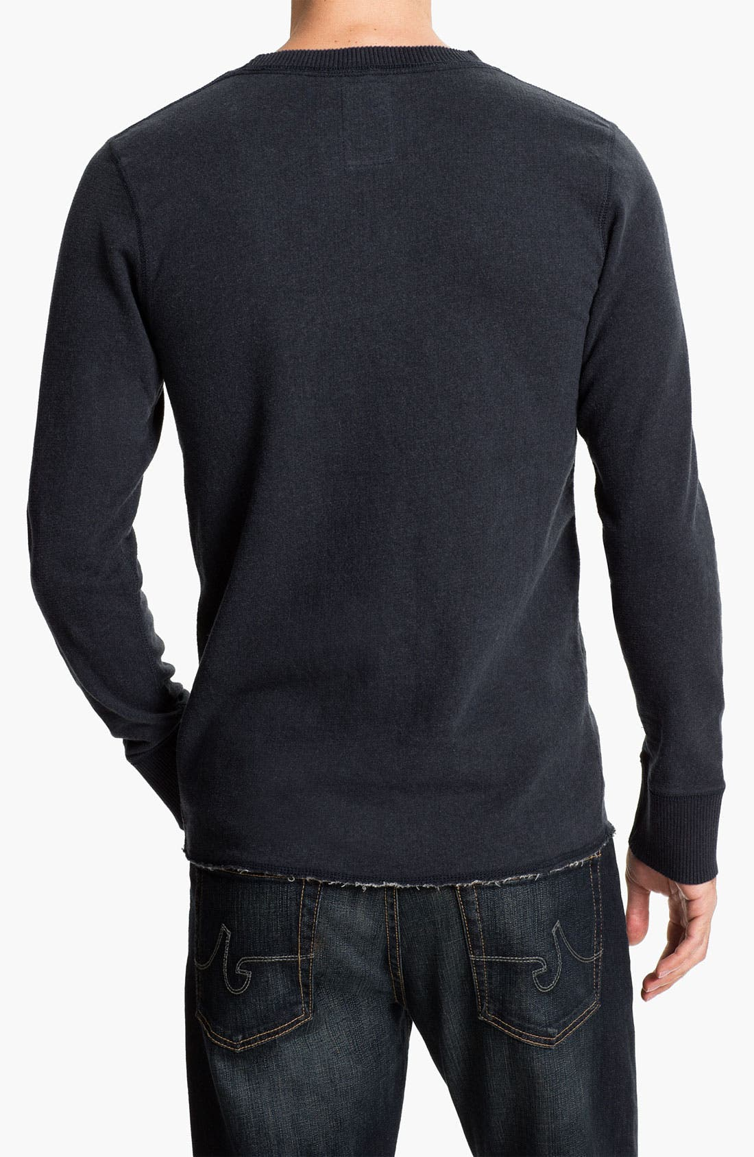 Alternate Image 2  - Relwen Crewneck Thermal Sweatshirt