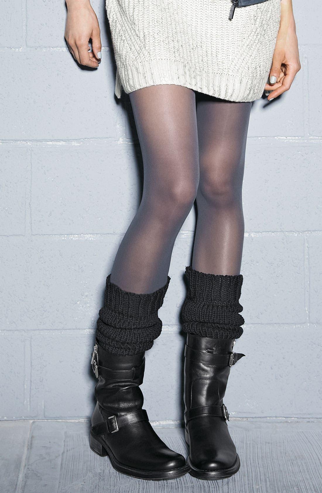 Alternate Image 3  - DKNY Chunky Knit Leg Warmers