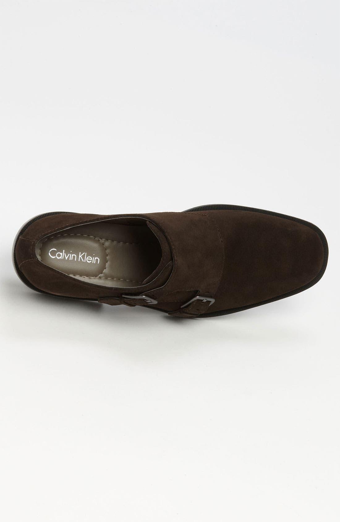 Alternate Image 3  - Calvin Klein 'Russel' Double Monk Strap Slip-On