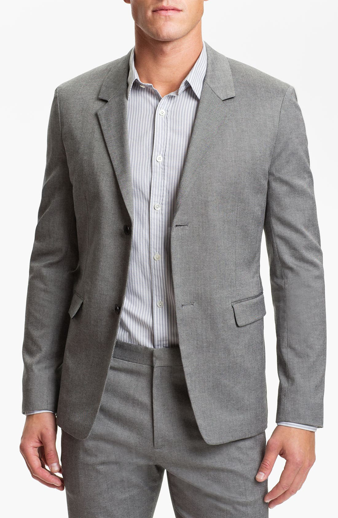 Alternate Image 1 Selected - Theory 'Tariel Varennes' Cotton Blazer