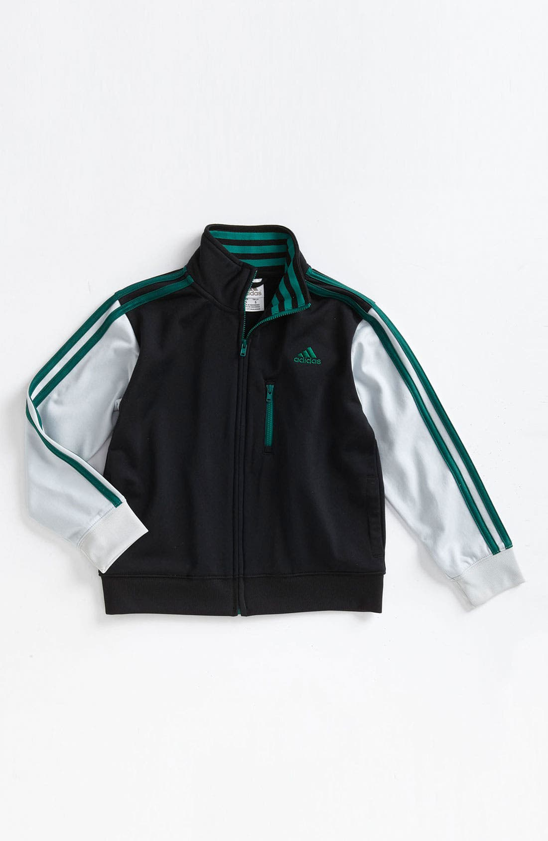 Alternate Image 1 Selected - adidas 'Varsity' Jacket (Little Boys)