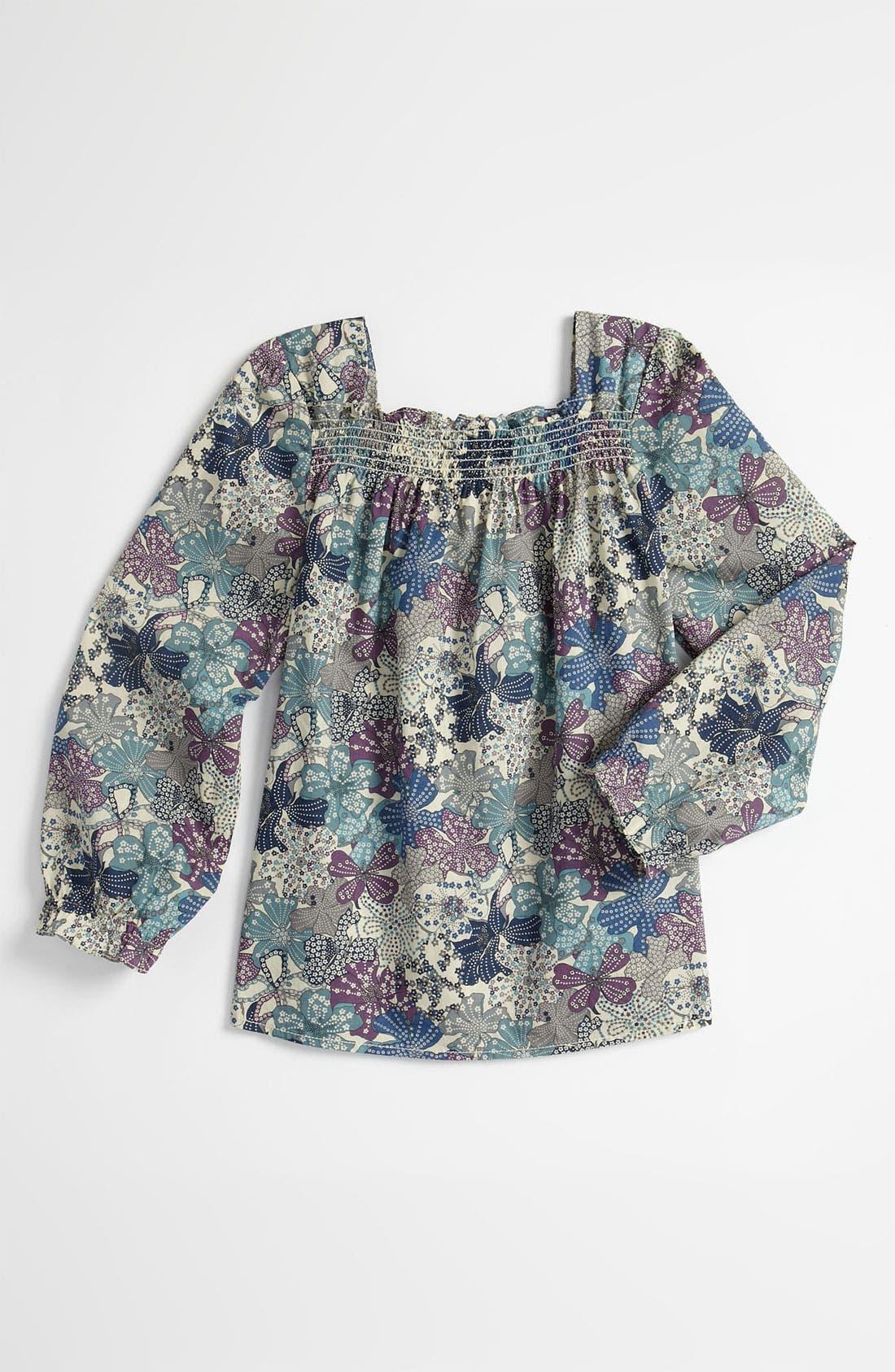 Alternate Image 1 Selected - Peek 'Chrysanthemum' Top (Toddler, Little Girls & Big Girls)