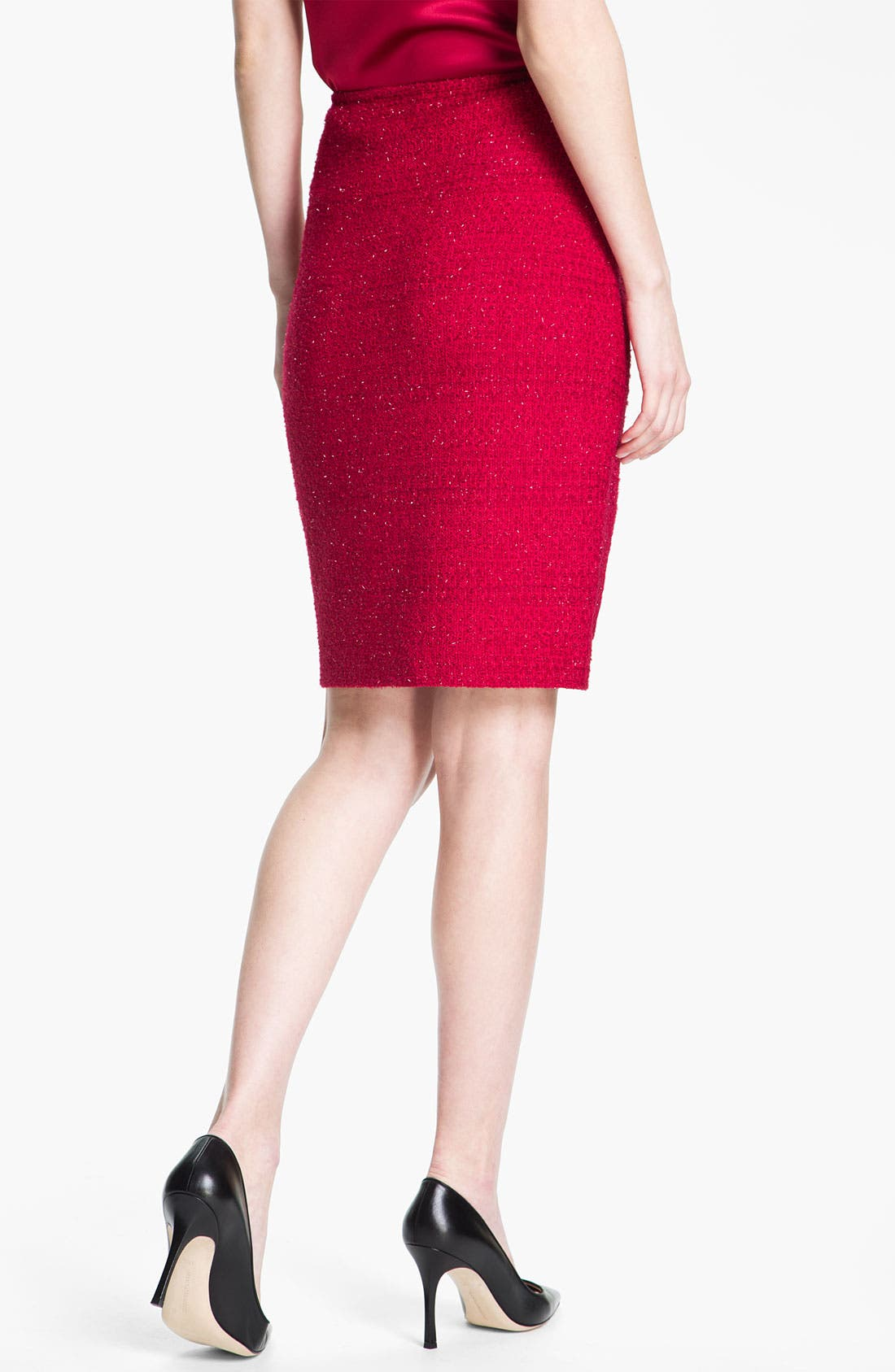 Alternate Image 2  - St. John Collection 'Berry' Skirt