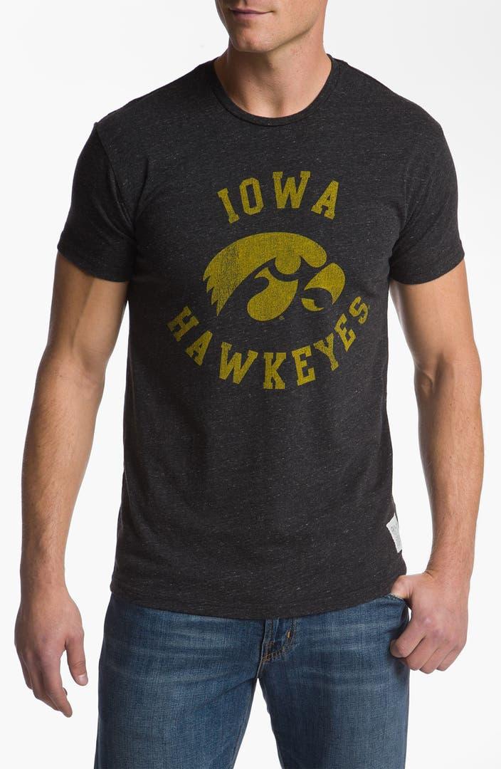 The original retro brand 39 iowa hawkeyes stitch 39 t shirt for Original stitch shirt review