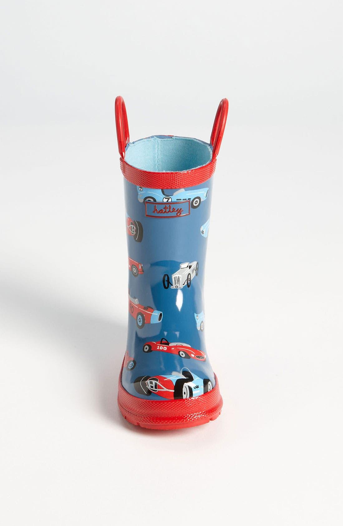 Alternate Image 3  - Hatley 'Vintage Cars' Rain Boot (Walker, Toddler & Little Kid)