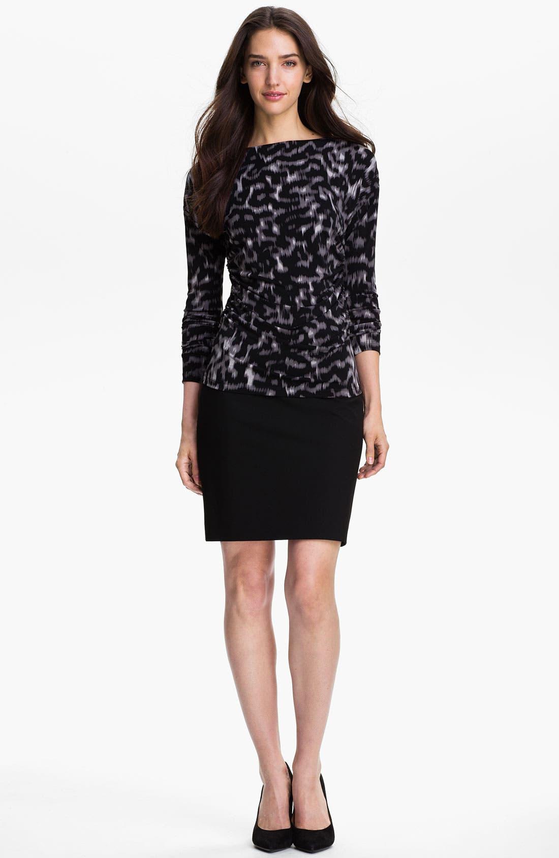 Alternate Image 5  - Halogen® Welt Pocket Skirt